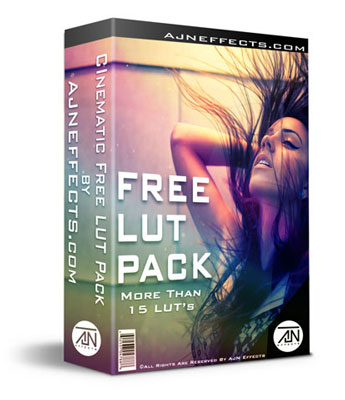 AJN Cinematic Free LUT Pack